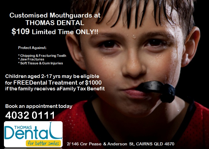 Mouthguard Brochure with LOGO